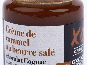 Vente avec paiement en ligne: Crème de Caramel au beurre salé Chocolat Cognac