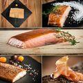 Vente avec paiement en direct: Poissons fumés (saumon, truite, esturgeon)