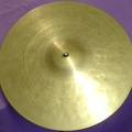 "Selling with online payment: 13"" vintage Hand Hammered cymbal 1010 grams"