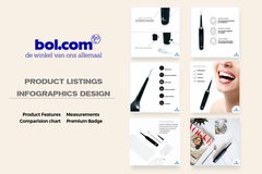 Advertentie: Professional Bol.com Product Listings, Infographic Images