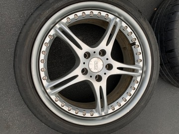 Selling: RARE SSR gt3 Wheels WITH TIRES