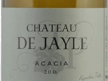 Vente avec paiement en direct: Château de Jayle - Sec  Cuvée Acacia