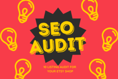 Offering online services: SEO Package - 10 Listing Audit