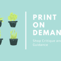 Offering expert consultation: PRINT ON DEMAND: Shop Critique and Consultation