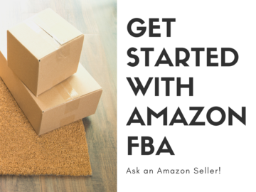 Offering expert consultation: Getting Started with Amazon FBA (Ask Me Anything!)