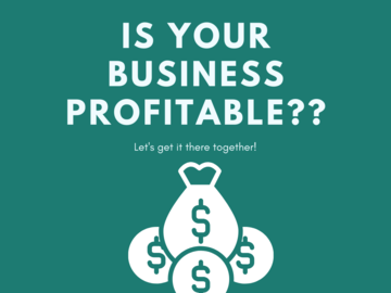 Offering expert consultation: Money Review Time! Is Your Business Profitable?