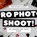 Offering online services: Professional Studio Photo Shoot (20 images)
