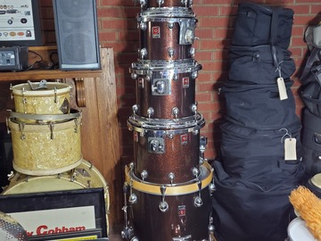 Selling with online payment: Premier Genista 5 pc Rare Root Beer Sparkle Finish  $1600 obo