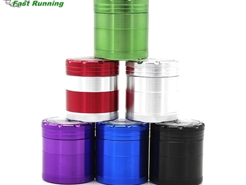 Post Products:  Aluminum 4 Piece Cali Crusher Pocket Storage Herb Grinder