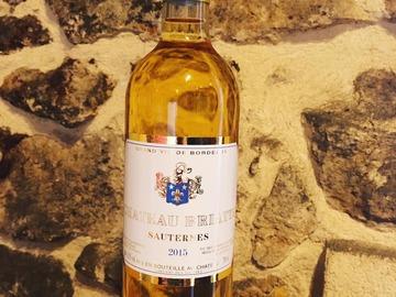 Vente avec paiement en direct: Sauternes - Château Briatte  - Tradition 2015