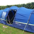 Renting out with online payment: Berghaus Air 6 inflatable tent sleeps 6