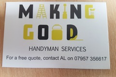 Offering-Per hour service: Making Good