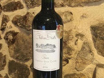 Vente avec paiement en direct: Graves Rouge - Château Briatte 2016