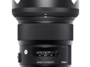 Vermieten: Sigma ART 24mm F1.4 Sony FE Mount