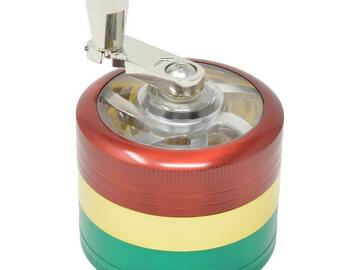 Post Products: RASTA DUBS GRINDER - 48MM