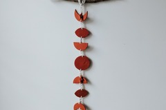 Selling: Terracotta Moon Phases Wall Hanging