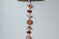 Selling: Rose Gold Moon Phases Wall Hanging