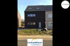 .: Moderne halfopen woning in houtskeletbouw | door Livingwood