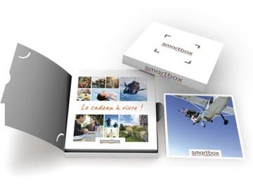 """Vente: e-coffret Smartbox """"Saut en parachute pour 2 à Nevers"""" (529,90€)"""