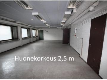 Vuokrataan: Työtila-varasto katutasossa Roihupelto 170 m2