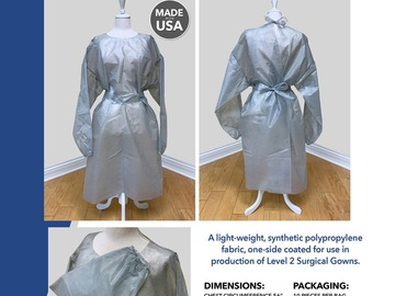 Sell your product: Isolation Gowns- Disposable-Immediate Ship