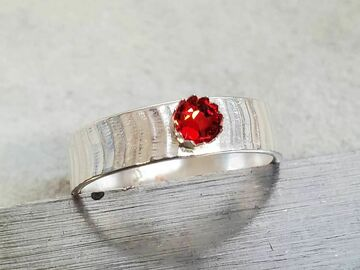 Announcement: Birthstone Rings in Silver.