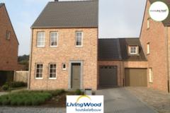 .: Pastorie halfopen woning in houtskeletbouw | door Livingwood