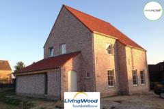 .: Pastorie open woning in houtskeletbouw | door Livingwood