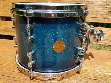 SOLD!: SOLD!! Gretsch new Classic 10x8 Ocean Blue Sparkle Burst Lacquer