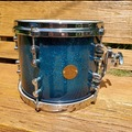 Selling with online payment: Gretsch new Classic 10x8 tom Ocean Blue Sparkle Burst Lacquer