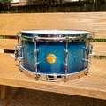 Selling with online payment: Gretsch New Classic 6.5x14 snare Ocean Blue Sparkle Burst