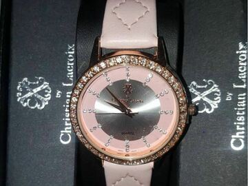 For Sale: Christian Lacroix Embellished Ladies Wristwatch