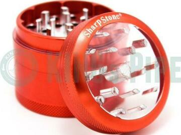 "Post Products: Sharp Stone - 2.5"" Large Clear Top V2 Grinder"