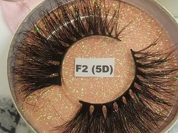 For Sale: F2 5D Wispy Mink Eyelashes