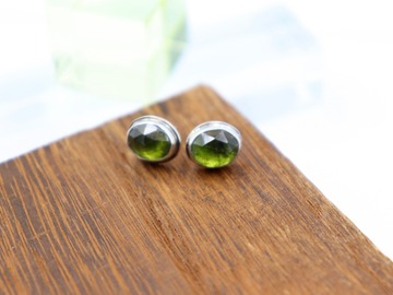 Selling: Everyday Idocrase Stud Earrings