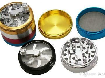 Post Products:  Rainbow Herb Grinders D63 mm 4layer Aluminium Alloy Grinders tob