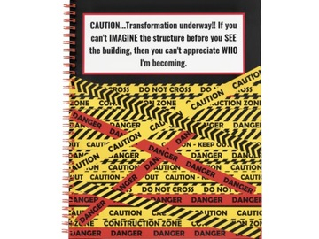 Selling with online payment: Inspirational Custom Notebooks