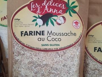 Vente avec paiement en direct: Farine Moussache au coco