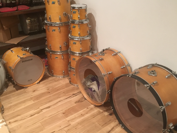 SOLD!: SOLD TO BUN E CARLOS! 1970 LUDWIG THERMO-GLOSS KIT $10K