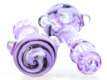 Post Products: Purple Swirl Spoon
