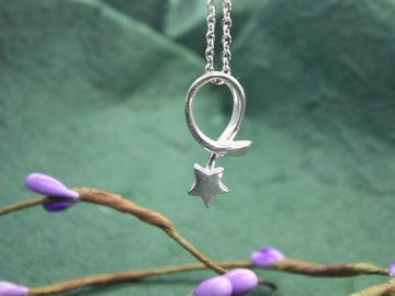 : shooting star  pendant