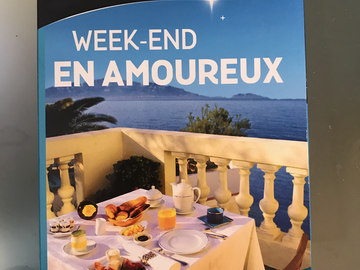 "Vente: Wonderbox ""Week-end en amoureux"" (59,90€)"
