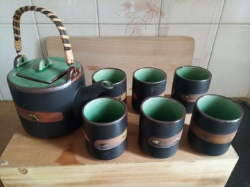 Vente: Service à thé céramique