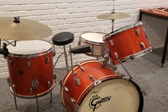 Show Off Your Drums! (no sales): Vintage 1960's Gretsch 3pc Progressive Jazz Drum Kit Shell Pack S