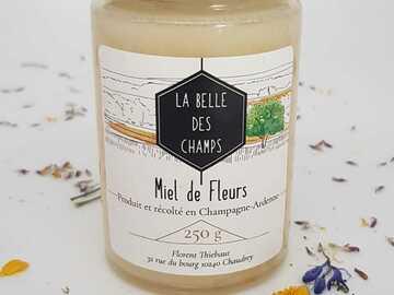 Vente avec paiement en direct: Miel de fleurs de printemps 250g