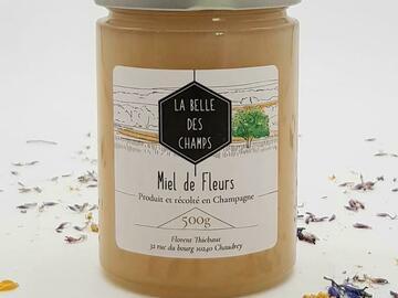 Vente avec paiement en direct: Miel de fleurs de printemps 500g