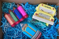 : School Theme Bath Bombs gift box
