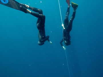 Freediving courses: Private Freediving Coaching Session on the Line in Roatán