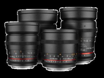 Vermieten: Rokinon Cine DS Lens Bundle EF
