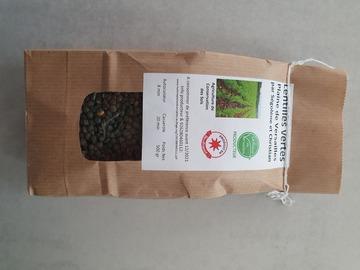 Vente avec paiement en direct: Lentilles vertes des Yvelines 500g